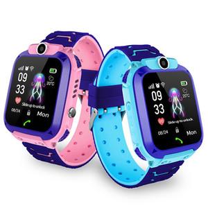 Q12 Enfants Smart Watch Enfants GPS Étudiant Smart Montres Smartwatch Caméra SOS IP67 SIM Appel Pour Android IOS Meilleur Cadeau PK Q100 Q50 Q528
