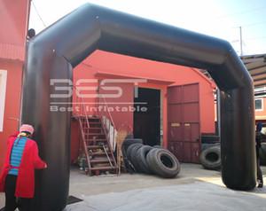 Arch Porta inflável preço barato personalizado de alta qualidade Entrada Arco inflável decorativa Arch Halloween