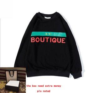 20FW Letters Printed Hoodie Männer Sweatshirts für Frauen Pullover beiläufige Frühlings-Pullover mit Kapuze Street Homme Kleidung M-2XL High Quality