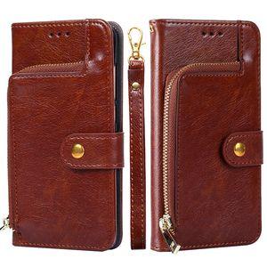 Luxe Portefeuilles Case Hybird TPU carte Sac Béquille Porte-téléphone Etui pour iPhone 11 Pro Max X XS Max XR 7/8 i Phone 6s plus
