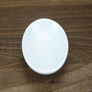 200pcs Plastic Seasoning Dish Round White Sauces Plate Snacks Dish Storage Trays Plate Saucer Food Container