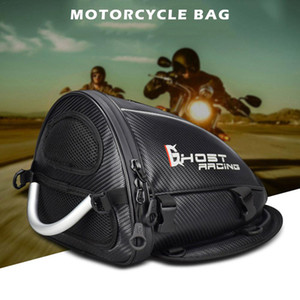Bolsa de cola de motocicleta multifuncional Bolsa de hombro Mochila impermeable Oxford Equipaje Guardaequipaje Motocicleta Backseat Bolsa de almacenamiento trasero