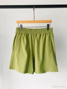 Pantalones cortos de verano pantalones casuales para hombre Deportes Relajado diseñador de moda de los pantalones cortos del Mens del color puro
