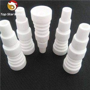 Comercio al por mayor 101418mm Clavos de cerámica para hombre VS clavo de titanio Clavo de cuarzo conjunto Ceramic carb cap clavo de cerámica