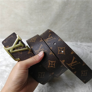 2020 new fashion PU Leather Women's Belt Metal Buckle Simple Fashion Belt For Women's Clothing Accessories