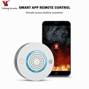 WiFi Wireless 2 in 1 Rauch- und Temperaturalarmmelder mit Batterie-Backup-Alarmmelder Hohe Dezibel-Sprachalarmunterstützung APP PA 438W BA