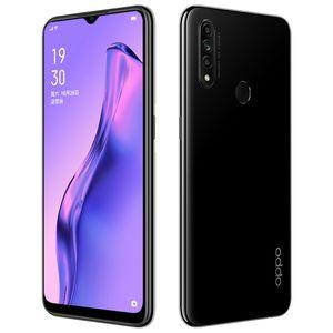 "Original de telefone celular Oppo A8 4G LTE 4GB RAM 128GB ROM Helio P35 Octa Núcleo Android 6.5"" Full Screen 12MP Fingerprint ID Smart Mobile Telefone"