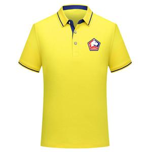2018 2019 2020 Ligue 1 Lille Soccer Polo-Shirt Herren-T-Shirt Trikots 2019 Lille-Poloshirts Jersey pepe Poloshirt für Herren