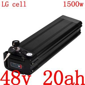 48v batería bicicleta 20ah eléctrica 48v 20ah de litio ion batería de la célula uso lg para el motor de la batería 48v500w 750w 1000w 1500w ebike