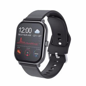 T55 inteligente reloj Pk P70 B57 Relojes Hombres SmartWatch impermeable para la pulsera de las mujeres de fitness Muñequera impermeable para IOS Android
