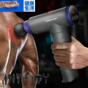 Massage Gun Professional Deep Tissue Body Massager Electric Fascia To Relieve Muscle Tension Deep Massage HealFASCC ghfhjjhf