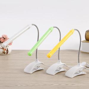 USB LED Настольная лампа с зажимом Гибкая Настольная лампа 13Leds для ночной чтение книги исследование Делопроизводство Дети Night Light