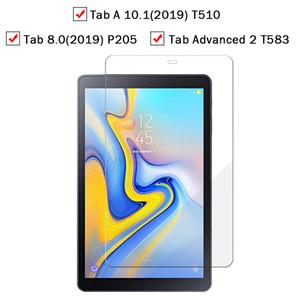 T510 T295 T583 P205 S5E / T720 / T725 P1000 T320 T7 T3 Pro P6200 hiçbir Paketi için Samsung Tab temperli cam Ekran Koruyucu için