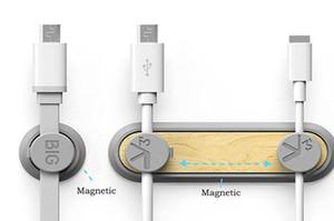 Clip per cavo magnetico Bcase TUP 2 Clip magnetica per cavo magnetico con clip a clip 3pcs