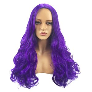 2018 new Women's Fashion Hairstyle Soft Synthetic Hair Long Wigs Wave Curly Wig Curly curles hair tools professional