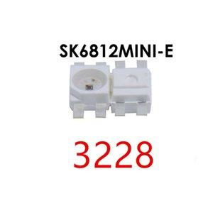 (WS2812B와 유사) 100PCS SK6812 MINI-E SK6812 3228 SMD 픽셀 LED 칩 개별적으로 주소 풀 컬러 DC5V