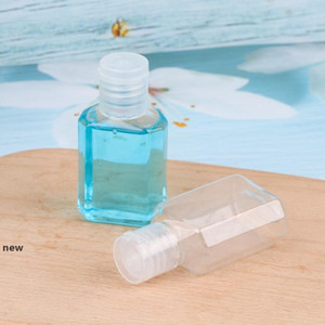 30ml PET Packing Bottles Kids Hand Sanitizer Empty Bottle with Flip Cap Travel Makeup Containers Refillable Bottles CCA12090 600pcs