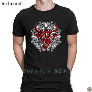 Rojo camisetas de manga corta de calidad superior Bulls encargo homme camiseta para los hombres Mejor original verano Anlarach moda