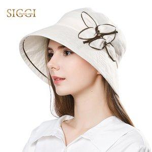 FANCET Womens Linen Sun Hat 여성용 여름용 샤포소 Feminino Praia Chapeau Femme 버킷 캡 Upf50 + UV 롤 브림 포장 가능 89313