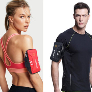 2020 venta al por mayor envío gratuito deportes brazo bolsa corriendo teléfono móvil brazo bolsa impermeable al aire libre deportes equipo Fitness muñeca bolsa 20042003W