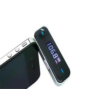 Universal Mini Inalámbrico 3.5mm Música para Coche Audio Transmisor FM Pantalla LCD Kit de Coche Transmisor Coche Reproductor de MP3 Para iPhone Android Teléfono Celular
