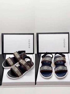 мальчик дизайнера Сандал черный цвет ребенок лето пляж обуви тапочки девочка летом обувных сандалии ясельного возраста ребенок моды лодыжки ремень сандалии 26-35