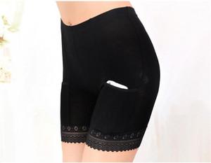 Pantalones de tuberías bragas del cordón atractivo de seguridad de las mujeres con el bolsillo cortocircuitos del muchacho de la ropa interior para mujer Ropa Interior para mujer diseñador