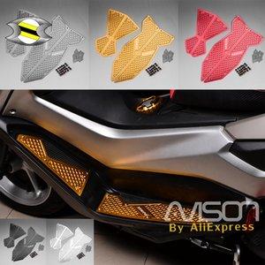 2018 accesorios de la motocicleta para Yamaha NMAX NMAX N MAX 125 155 2018 Foot Pegs Reposapiés Paso placa de pedal