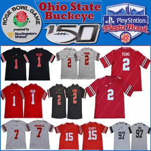 2020 NCAA Ohio State Buckeye 150º Patch Jersey 1 Justin Campos 2 JK Dobbins 2 Chase Young 15 Elliott Dwayne 7 Haskins Jr. jersyes Nick Bosa