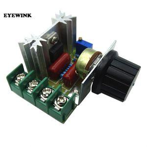 Бесплатная Доставка 10 ШТ. / ЛОТ Smart Electronics 220 В 2000 Вт Регулятор Скорости SCR Регулятор Напряжения Диммер Терморегуляторы
