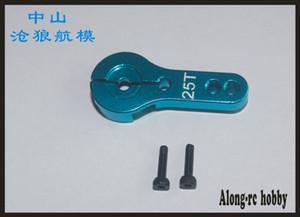FREE SHIPPING 4PCS 25T Aluminum Servo Horn Arm for Standard Servos MG995 MG946R MG996R MG945 RC For Futaba Power HD Servos Part