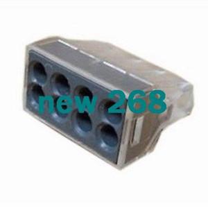 Livraison gratuite WAGO 773-108 connecteur à enfoncer à huit pôles x100