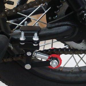 2pcs Фирма Автоматическая Натяжной универсальный инструмент для мотоциклов Малый Модифицированный частей Открытый натяжителя цепи Аксессуары Болт Roller