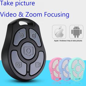 아이폰 안드로이드 스마트 폰을위한 최신 5 키 셀카 셔터 블루투스 원격 제어 셀프 타이머 고속 카메라 / 유연한 줌 / 조정 렌즈 / 비디오