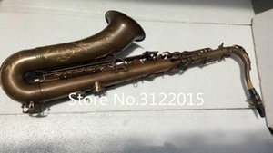 Margewate Brand Musical Instruments Tenor B -Flat Bb Tune Saxophone Brass Tube Vintage Copper Surface Sax Customizable Logo