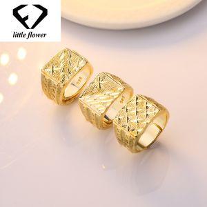 Anel De Diamante De Ouro 14k Anillos De Bague dos homens Bizuteria Etoile Diamante Anéis Abertos Jóias de Casamento Gem Hip Hop Grandes Anéis Pedras Y19052301