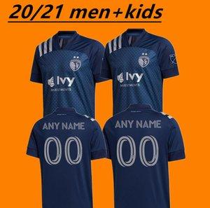 Shiping libre 2020 Sporting Kansas City embroma los jerseys MLS PULIDO Busio RUSSELL 7 GERSO 12 Un poco 15 20 21 camisetas de jersey