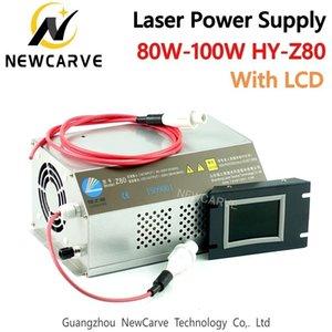 80W 100W CO2 Lazer Güç Kaynağı Monitör AC90-250V İçin Lazer Kazıma Makinesi HY-Z80 Newcarve Kesme