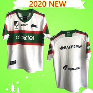 S-5XL 2020 NRL RABBIT 럭비 저지 구 플레이어 고지 토끼 성인 남성 20/21 Rabbitohs 셔츠 최고 품질의 클럽 호주 뉴질랜드