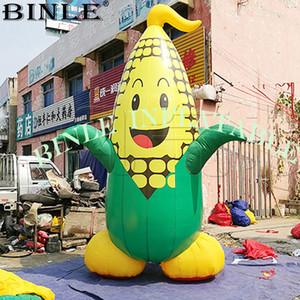 Le plus populaire mignon conçu modèle de maïs géant gonflable, la nourriture végétale gonflable pour la promotion agricole