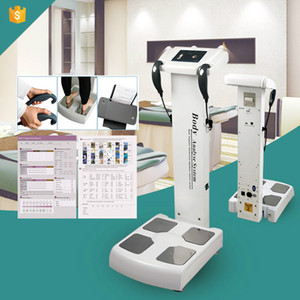 Preço de fábrica avançada Full Body Analyzer para fitness Resultado / Powerful Composição Corporal Analyzer / 5 Frequência Body Fat Scaler