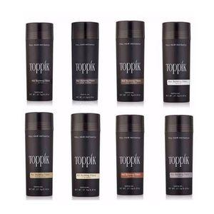 Fibras Top Hair Building 27,5 g adelgazamiento del cabello Corrector Instantáneo Queratina Polvo Negro spray aplicador pikk