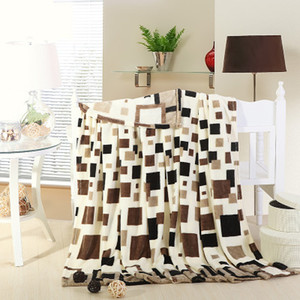 NEW Winter High quality Fashion grid style cashmere blanket adult blanket Multifunction quilt bed Sheets  mattress 200X230cm