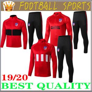 2019 2020 chaqueta de fútbol JOÃO FÉLIX traje de entrenamiento 2019/20 camiseta de fútbol LLORENTE chaqueta de fútbol chándal largo con cremallera JOAO FELIX