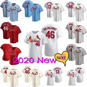 46 Paul Goldschmidt 2020 New Jersey 4 Yadier Molina Matt Carpenter Paul DeJong Carlos Martinez Marcell Ozuna Wong Dexter Fowler Trikots
