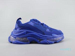 2020 Kristal Alt Casual Üçlü S Parça 2.0 Tasarımcı Eski Baba Sneaker Kombinasyon Azot Taban Erkekler Kadınlar Tripler Sneakers 36-45 CT3