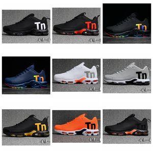 Nike air max Off white Flyknit Utility TN Plus 2020 Além disso herança e Inovação Lime explosão e Platinum Tint Preto Branco Explosão amarela Mens Mulheres Designer Running Shoes
