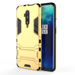 Military Armor Hard PC Phone Case For Oneplus 8T Nord 8Pro 8 Ring Holder Shell Caver For Oneplus 7T Pro 7Pro 7 6T 6
