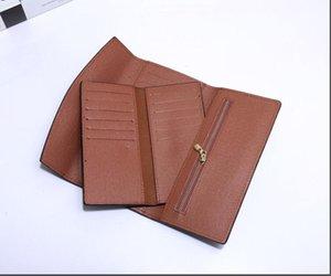 Mens Wallet free shipping Men's Leather With Wallets For Men Purse Wallet Men Wallet Dust Bag V6352