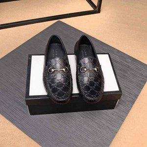 черные мужские модные, повседневные и удобные плоские классические туфли Doug